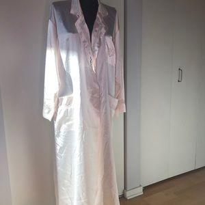Christian Dior Vintage Satin Robe
